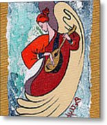 Angel Playing For Us No2 Metal Print by Elisabeta Hermann