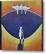 Angels Singing Metal Print by Janet Knocke