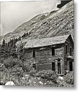 Animas Forks In Blackandwhite Metal Print by Melany Sarafis