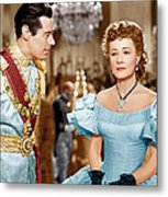 Anna And The King Of Siam, From Left Metal Print by Everett