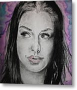 Anne Hathaway Metal Print by Ashley Henry