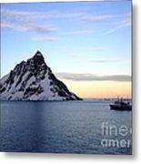 Antarctica Metal Print by Karen Kean