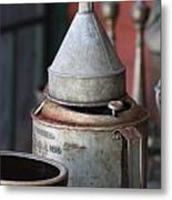 Antique Heaven I Metal Print by Sheila Rodgers