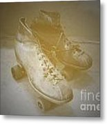 Antique Roller Skates Metal Print by Jost Houk