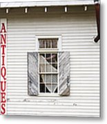 Antique Store Facade Metal Print by Jeremy Woodhouse