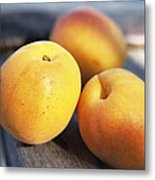 Apricots Metal Print by Veronique Leplat