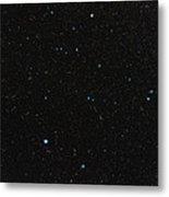 Aquarius Constellation Metal Print by Eckhard Slawik