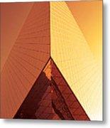 Architecture 3001 Metal Print by Falko Follert
