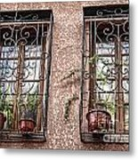 Architecture I Windows Metal Print by Chuck Kuhn