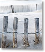 Aresquiers Beach Metal Print by Anne Petitfils