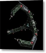 Artists Concept Of The Assimilators Metal Print by Rhys Taylor