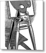 Artist's Easel, Artwork Metal Print by Bill Sanderson