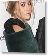 Ashley Olsen At Arrivals For The Metal Print by Everett