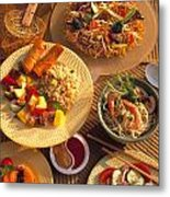Asian Buffet Metal Print by Vance Fox
