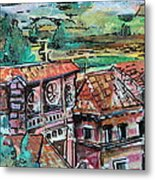 Assisi Italy Metal Print by Mindy Newman