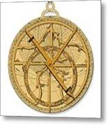 Astrolabe, Historical Artwork Metal Print by Detlev Van Ravenswaay