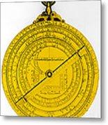 Astrolabe Metal Print by Omikron