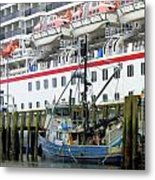 At Port Metal Print by Mindy Newman