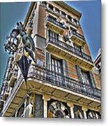 At The Plaza De La Boqueria ... Metal Print by Juergen Weiss