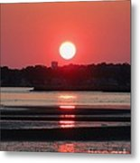 Aura Of A Sunset Metal Print by Meandering Photography