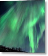 Aurora Borealis Corona Metal Print by John Hemmingsen