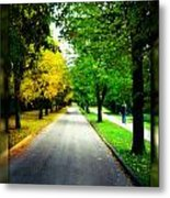 Autumn Is Comming Metal Print by German Savchishen
