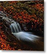 Autumn Waterfall Metal Print by Irinel Cirlanaru
