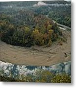 Autumnal View Of One Of The Loops Metal Print by Randy Olson