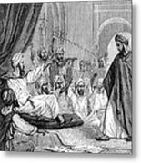Averroes, Islamic Physician Metal Print by