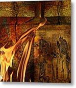 Back Bone #3 Metal Print by Janet Kearns