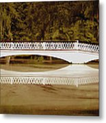 Back In The Day Metal Print by DigiArt Diaries by Vicky B Fuller
