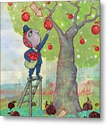 Bad Apples Good Apples Metal Print by Dennis Wunsch
