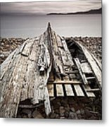 Badentarbet Bay The Coigach Scotland Metal Print by John Potter