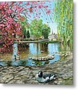 Bakewell Bridge - Derbyshire Metal Print by Trevor Neal