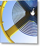 Balance Wheel Of A Watch, Artwork Metal Print by Pasieka