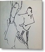 Ballet In The Park 2 Metal Print by James Christiansen