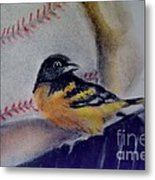 Baltimore Orioles Metal Print by AE Hansen