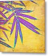 Bamboo Batik II Metal Print by Judi Bagwell