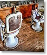 Barber - The Barber Shop 2 Metal Print by Paul Ward