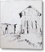 Barn And Shed Metal Print by Rod Ismay
