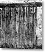 Barn Door Metal Print by Georgia Fowler
