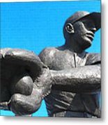 Baseball - Americas Pastime Metal Print by Bill Cannon