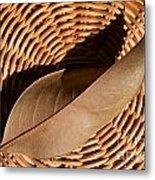 Basket Of Brown Metal Print by Dan Holm