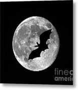 Bat Moon Metal Print by Al Powell Photography USA