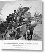 Battle Of Churubusco, 1847 Metal Print by Granger