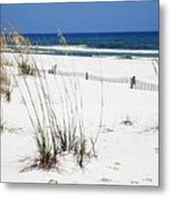 Beach No. 5 Metal Print by Toni Hopper