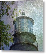 Beacon Of Hope Metal Print by Judy Hall-Folde