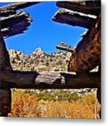 Beautiful View Metal Print by Tina Slee