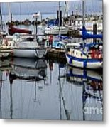 Beauty Of Boats Metal Print by Bob Christopher