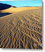 Beauty Of Death Valley Metal Print by Bob Christopher